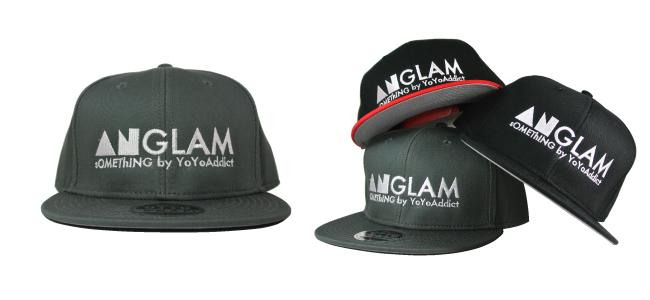 ANGLAM SNAPBACK (Black,Grey,Black/Red)  -  ¥2800