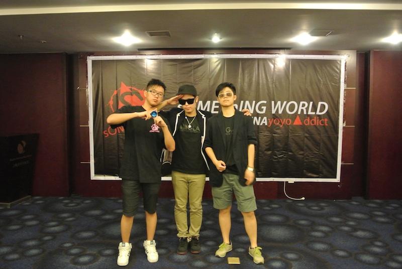 MC coffee , Hiroyuki , Lee (YoYoAddictShanghai)