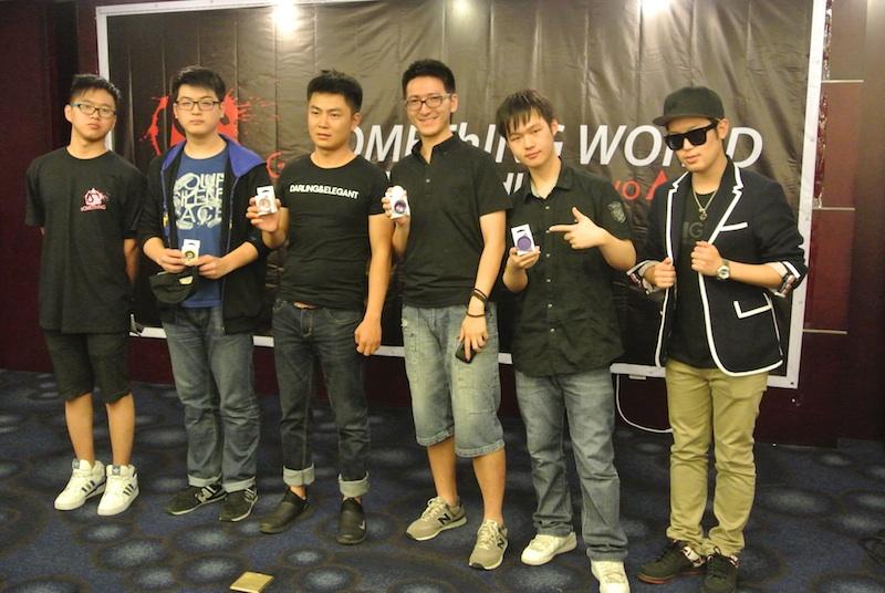 Winners of sOMEThING World Shanghai Freestyle Contest!